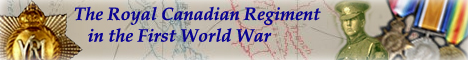 Researching The Royal canadian Regiment in the First World War
