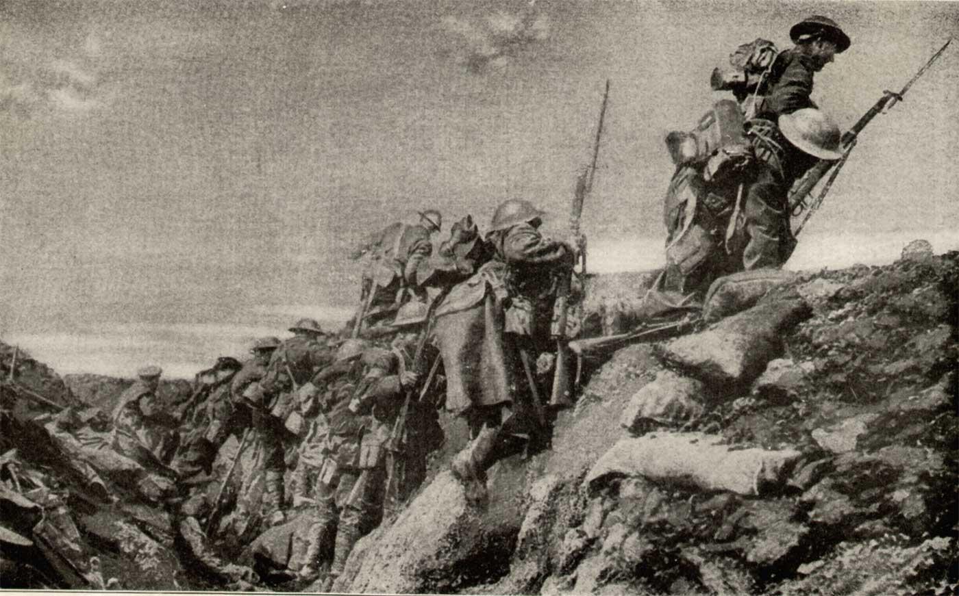 essay on ww1 trench warfare