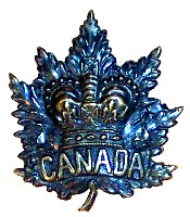 Badge worn by the Second (Special Service) Battalion of The Royal Canadian Regiment while serving in the South African War; 1899-1900.
